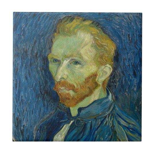 Vincent Van Gogh Self Portrait Tile