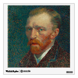 Vincent Van Gogh Self-Portrait Wall Decal