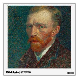 Vincent Van Gogh Self-Portrait Wall Sticker