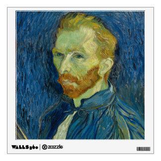 Vincent van Gogh - Self-Portrait Wall Sticker