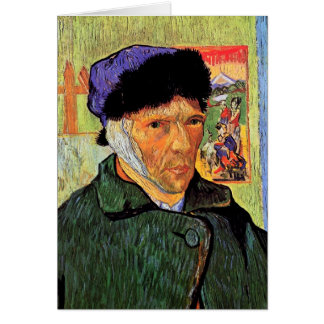 Vincent Van Gogh - Self-Portrait With Bandaged Ear Card