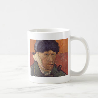 Vincent Van Gogh  -Self Portrait with Bandaged Ear Coffee Mug