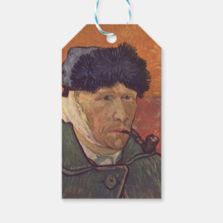 Vincent Van Gogh  -Self Portrait with Bandaged Ear Gift Tags