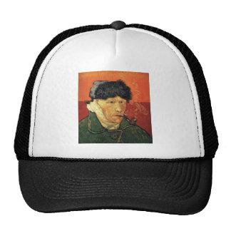 Vincent_van_Gogh_-_Self_portrait_with_bandaged_ear Trucker Hat