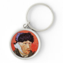 Vincent Van Gogh - Self Portrait With Bandaged Ear Keychain