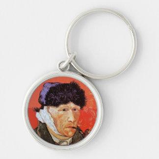 Vincent Van Gogh - Self Portrait With Bandaged Ear Keychain
