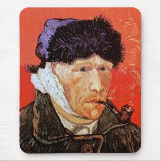 Vincent Van Gogh - Self Portrait With Bandaged Ear Mouse Pad