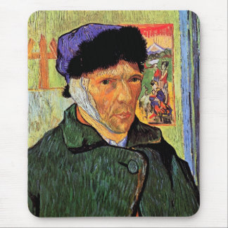 Vincent Van Gogh - Self-Portrait With Bandaged Ear Mouse Pad