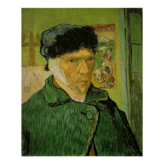 Vincent Van Gogh - Self-Portrait with Bandaged Ear Poster