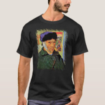 Vincent Van Gogh - Self-Portrait With Bandaged Ear T-Shirt
