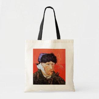 Vincent Van Gogh - Self Portrait With Bandaged Ear Tote Bag