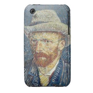 Vincent van Gogh | Self Portrait with Felt Hat Case-Mate iPhone 3 Case