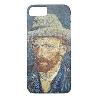 Vincent van Gogh | Self Portrait with Felt Hat iPhone 8/7 Case