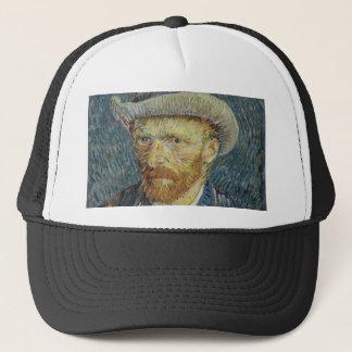 Vincent Van Gogh Self Portrait with Grey Felt Hat