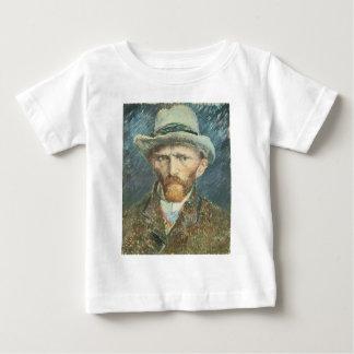 Vincent Van Gogh Self Portrait with Grey Felt Hat Baby T-Shirt