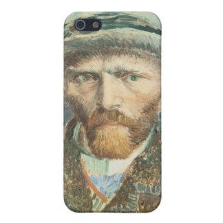 Vincent Van Gogh Self Portrait with Grey Felt Hat Case For iPhone SE/5/5s