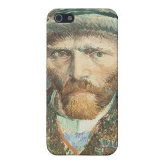 Vincent Van Gogh Self Portrait with Grey Felt Hat iPhone SE/5/5s Cover