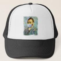 Vincent Van Gogh Self Portrait With Mask Spoof Trucker Hat