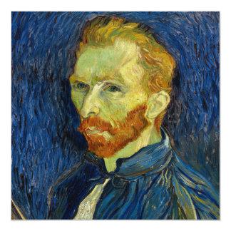 Vincent Van Gogh Self Portrait With Palette Card