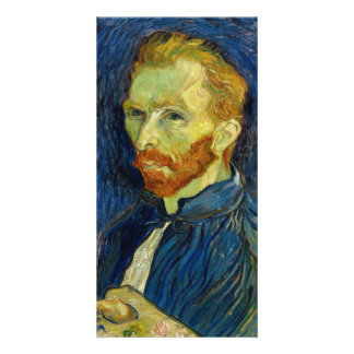 Vincent Van Gogh Self Portrait With Palette Card