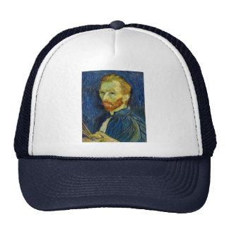 Vincent Van Gogh Self Portrait With Palette Trucker Hat