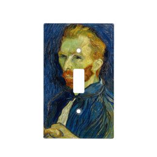 Vincent Van Gogh Self Portrait With Palette Light Switch Cover