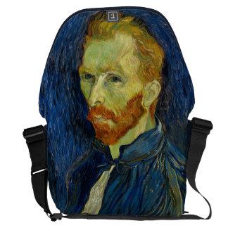 Vincent Van Gogh Self Portrait With Palette Courier Bag