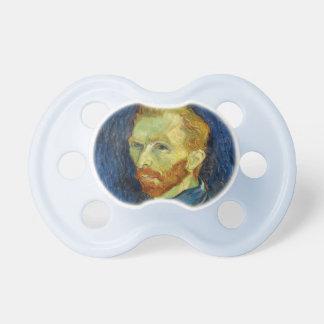 Vincent Van Gogh Self Portrait With Palette Pacifier