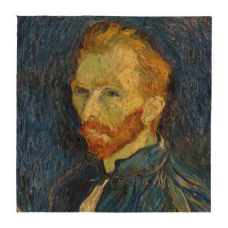 Vincent Van Gogh Self Portrait With Palette Drink Coaster