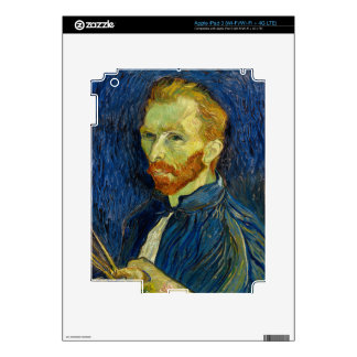 Vincent Van Gogh Self Portrait With Palette Skin For iPad 3