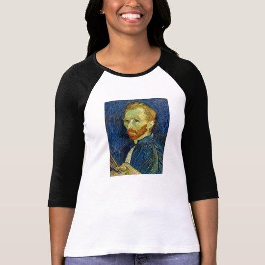 Vincent Van Gogh Self Portrait With Palette T-Shirt