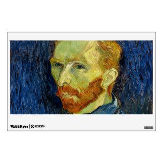 Vincent Van Gogh Self Portrait With Palette Room Sticker