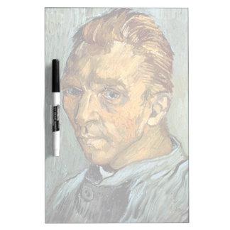 VINCENT VAN GOGH - Self portrait without beard Dry-Erase Board