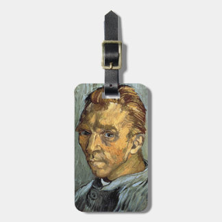VINCENT VAN GOGH - Self portrait without beard Luggage Tag
