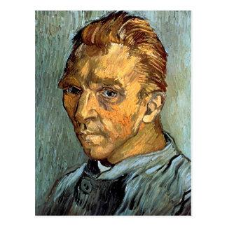 VINCENT VAN GOGH - Self portrait without beard Postcard