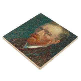 Vincent Van Gogh Self-Portrait Wooden Coaster