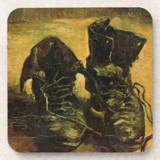 Vincent Van Gogh Shoes Beverage Coaster