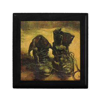 Vincent Van Gogh Shoes Trinket Box
