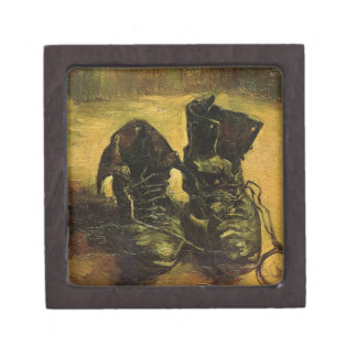 Vincent Van Gogh Shoes Jewelry Box