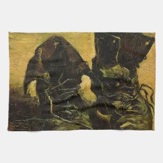 Vincent Van Gogh Shoes Hand Towel