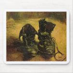 Vincent Van Gogh Shoes Mouse Pad