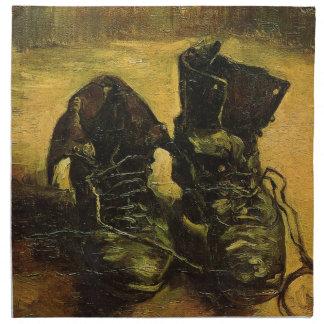 Vincent Van Gogh Shoes Cloth Napkins