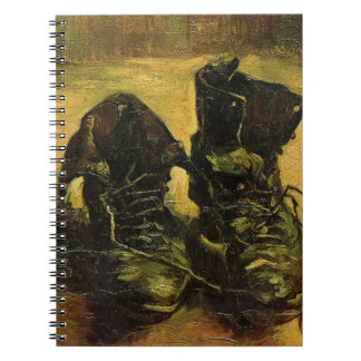 Vincent Van Gogh Shoes Note Books