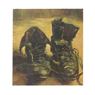 Vincent Van Gogh Shoes Memo Notepad