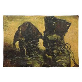 Vincent Van Gogh Shoes Placemat