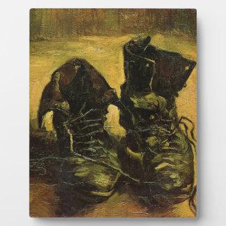 Vincent Van Gogh Shoes Plaque