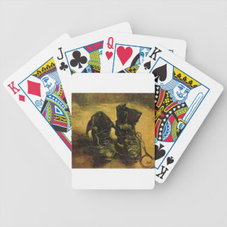 Vincent Van Gogh Shoes Bicycle Poker Cards