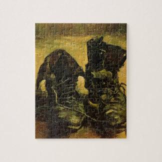 Vincent Van Gogh Shoes Jigsaw Puzzle