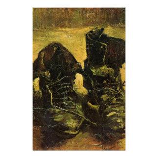 Vincent Van Gogh Shoes Stationery Paper