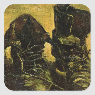 Vincent Van Gogh Shoes Stickers
